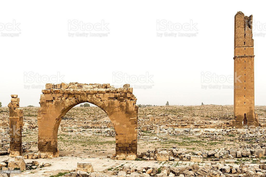 Harran University stock photo