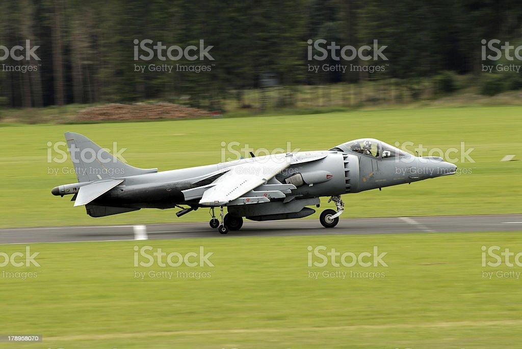 AV-8B Harrier attack aircraft royalty-free stock photo