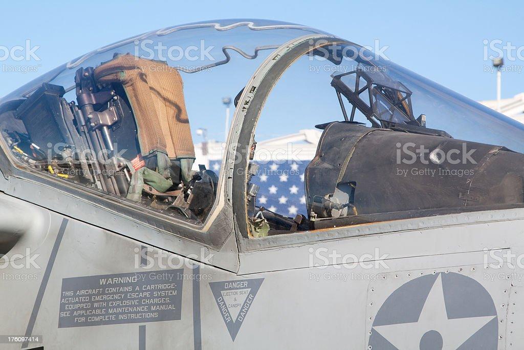 AV-8B Harrier Canopy royalty-free stock photo