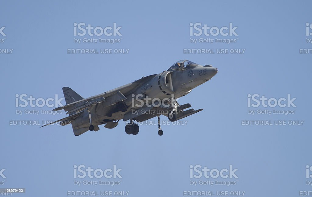 Harrier Jet royalty-free stock photo