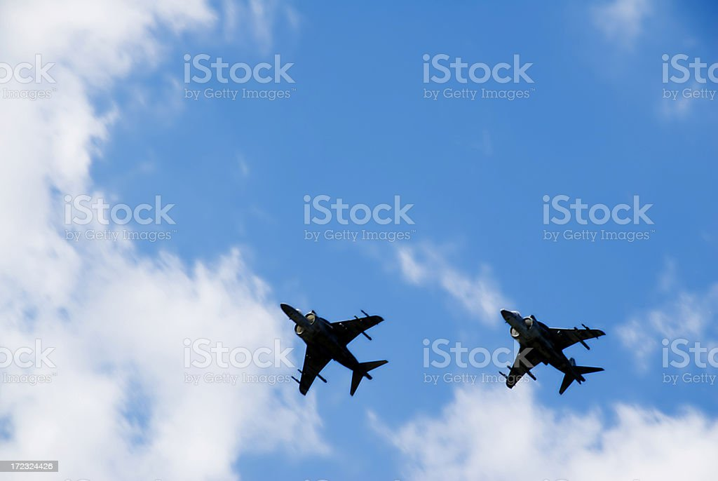 Harrier Jets royalty-free stock photo