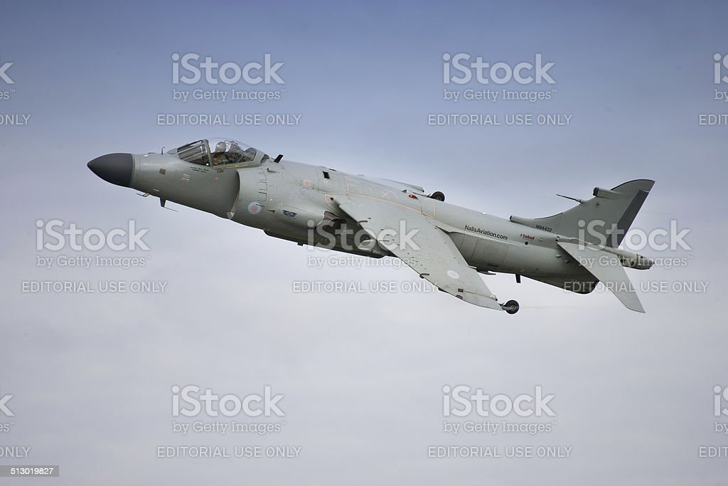 Harrier Jump Jet stock photo