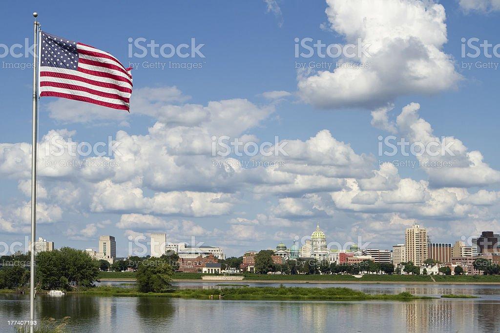 Harrisburg Pennsylvania stock photo