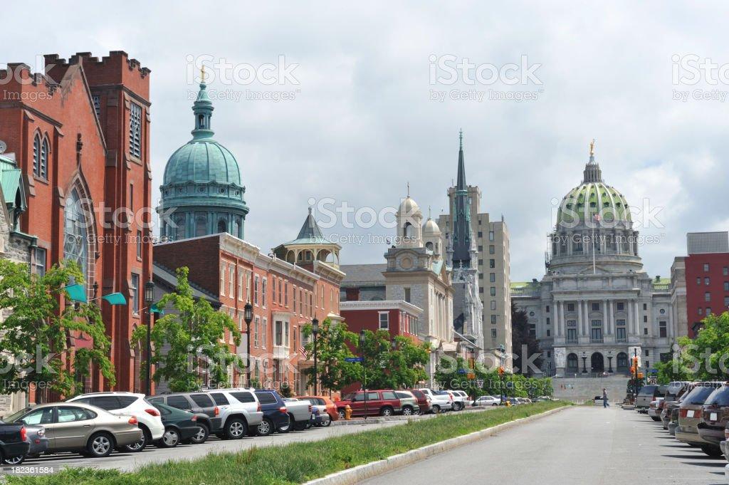 Harrisburg royalty-free stock photo