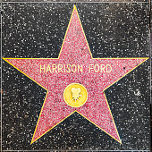 Harrison Ford's star on Hollywood Walk of Fame