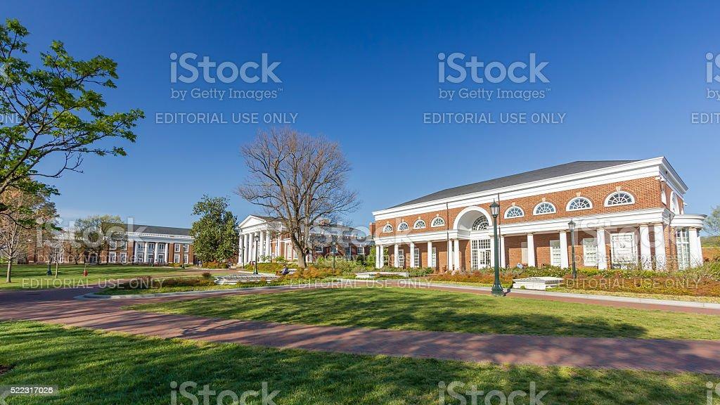 Harrison Institute at UVA stock photo