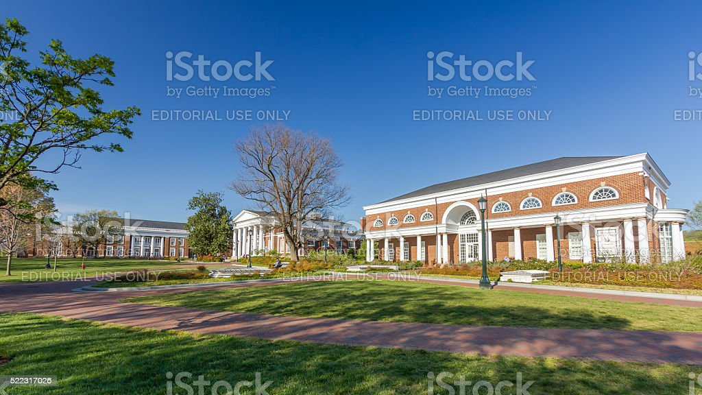 Harrison Institute at UVA stock photo