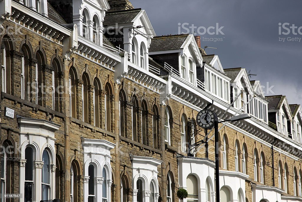 Harrogate in North Yorkshire, England stock photo