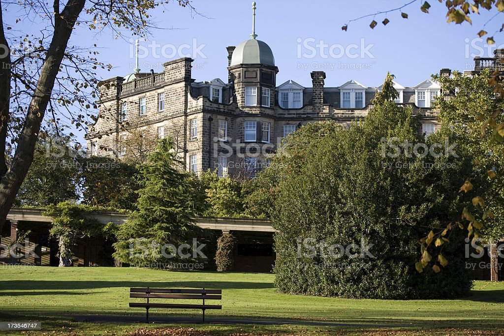 Harrogate Yorkshire England architecture stock photo