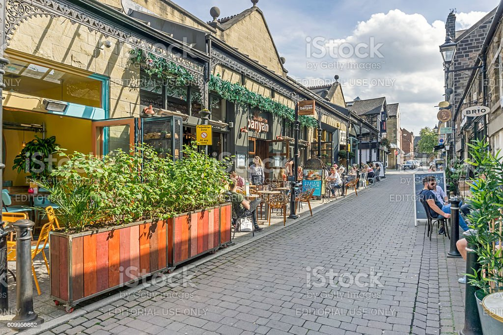Harrogate, Yorkshire stock photo