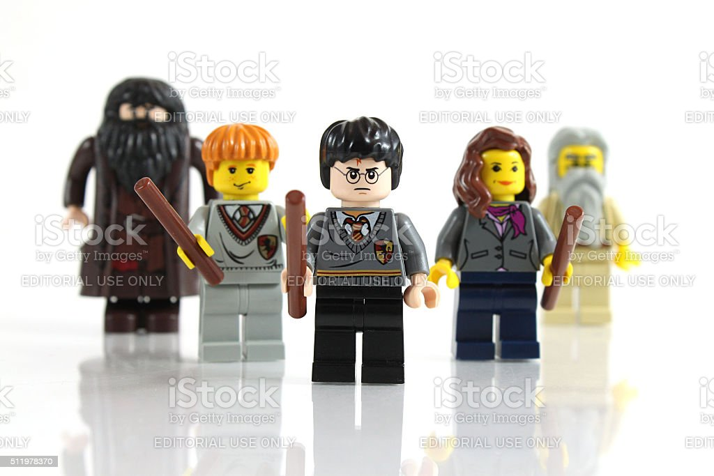 Harry Potter and Friends stock photo