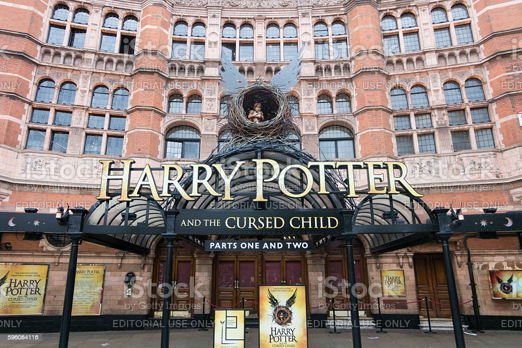 Harry Potter and the Cursed Child Theatre stock photo