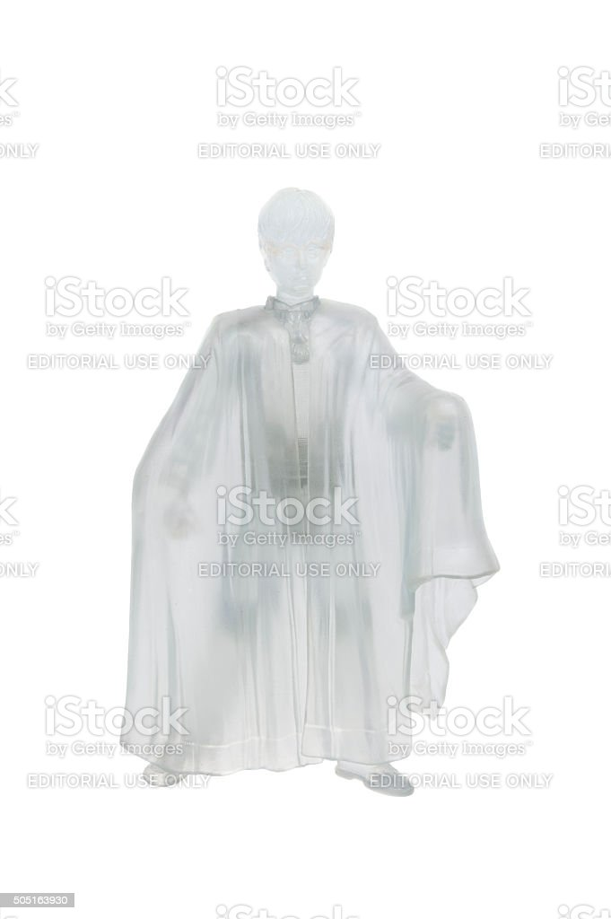 Harry Potter Invisibility Cloak Action Figure stock photo