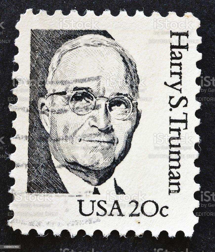 Harry S. Truman stock photo