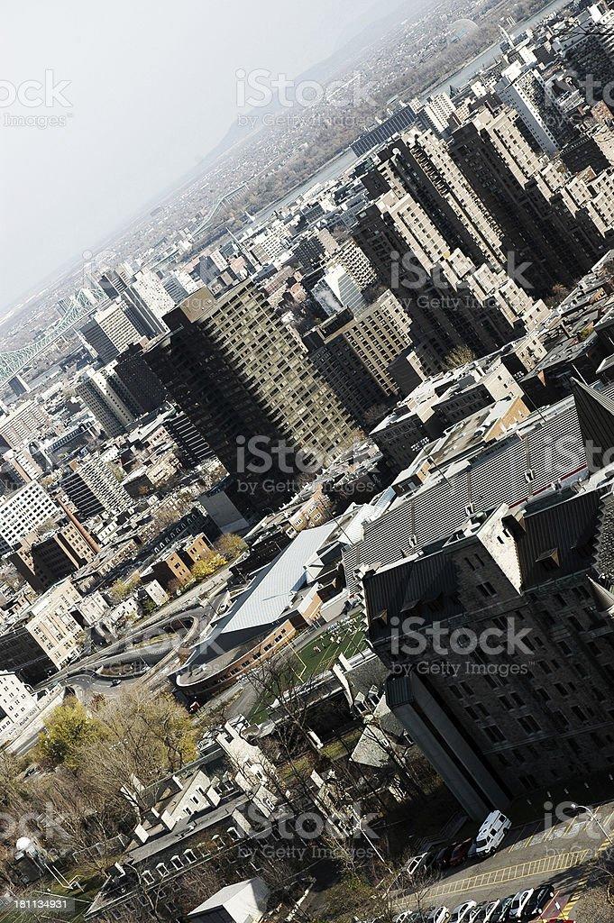 Harsh City stock photo