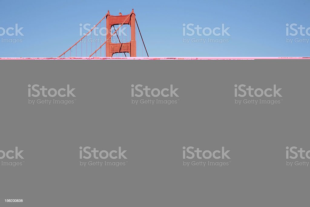 Harsh wall of ancient fortress stock photo