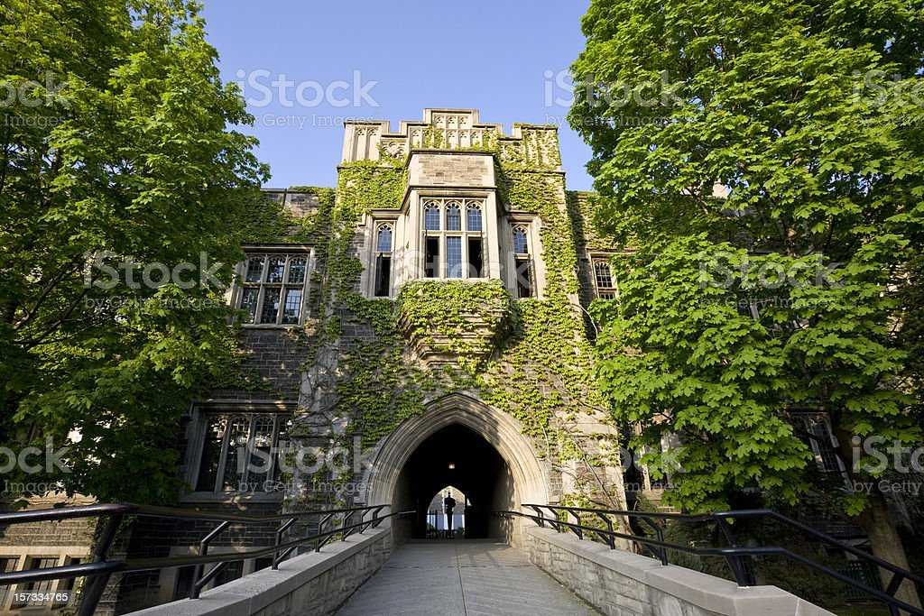Hart House Toronto stock photo