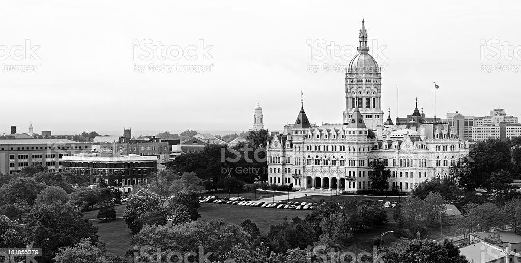 Hartford Capitol royalty-free stock photo