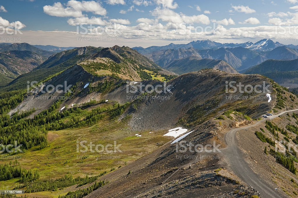 Hart's Pass, Washington royalty-free stock photo