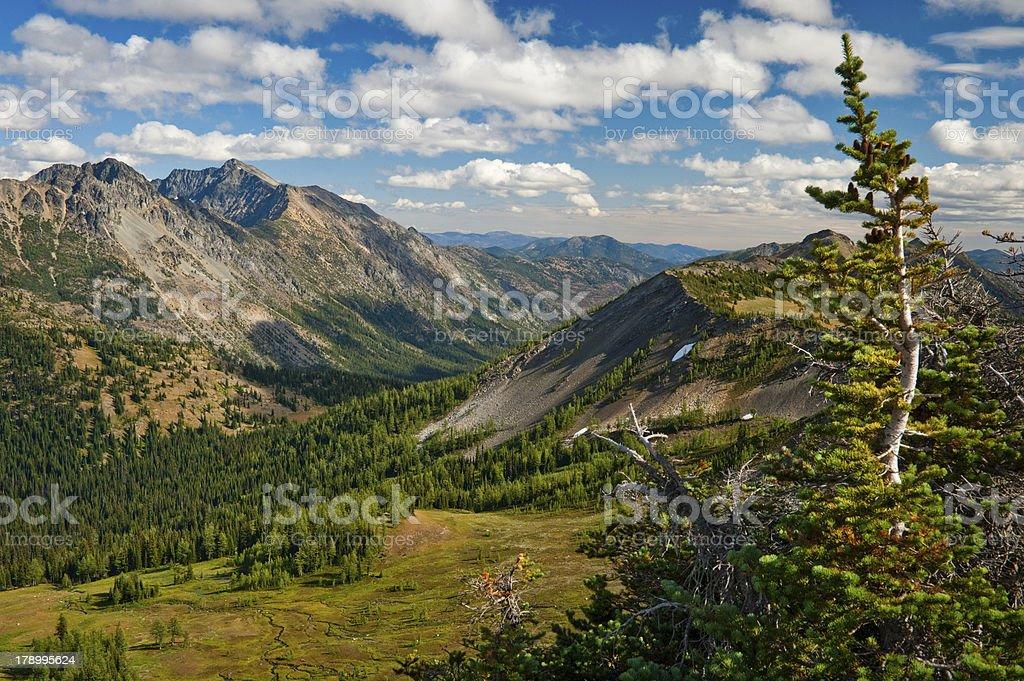 Hart's Pass, Washington royalty-free stock photo