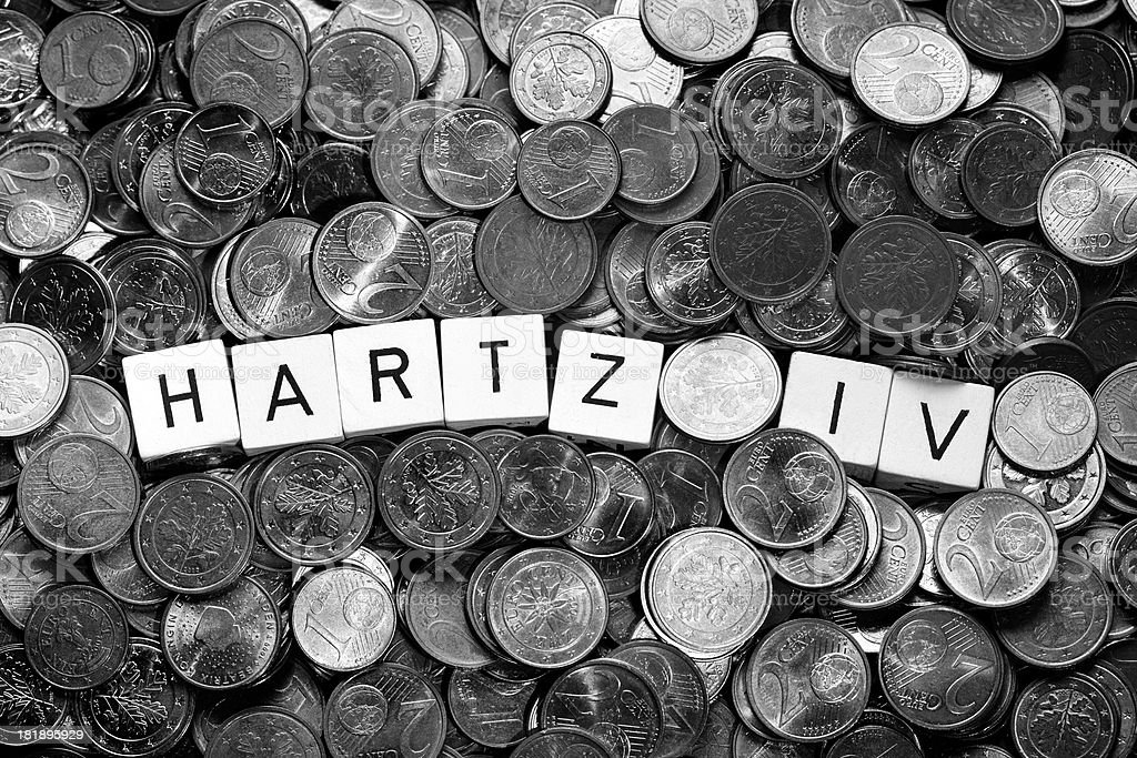 Hartz Concept - German labour market reform royalty-free stock photo