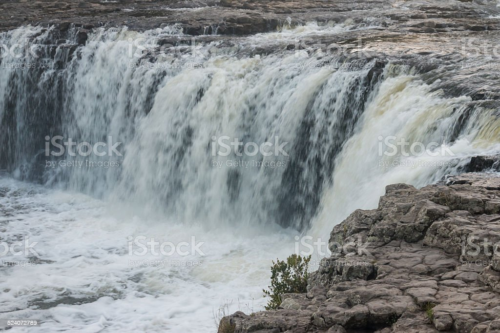 Haruru Falls, Bay of Islands stock photo