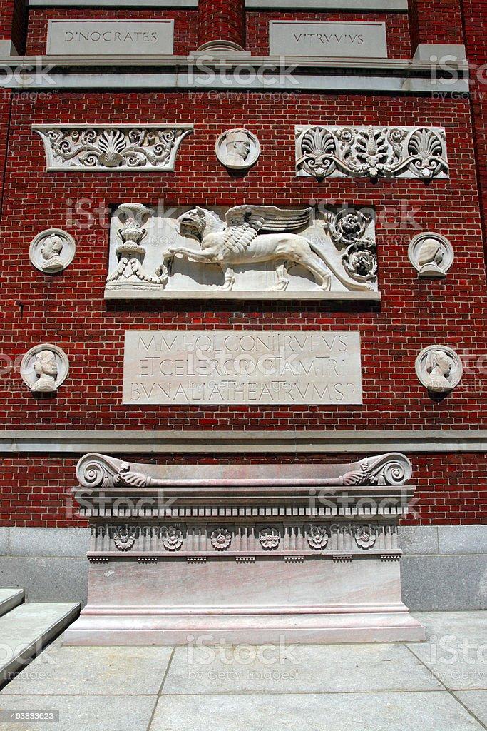 Harvard Square, Cambridge stock photo