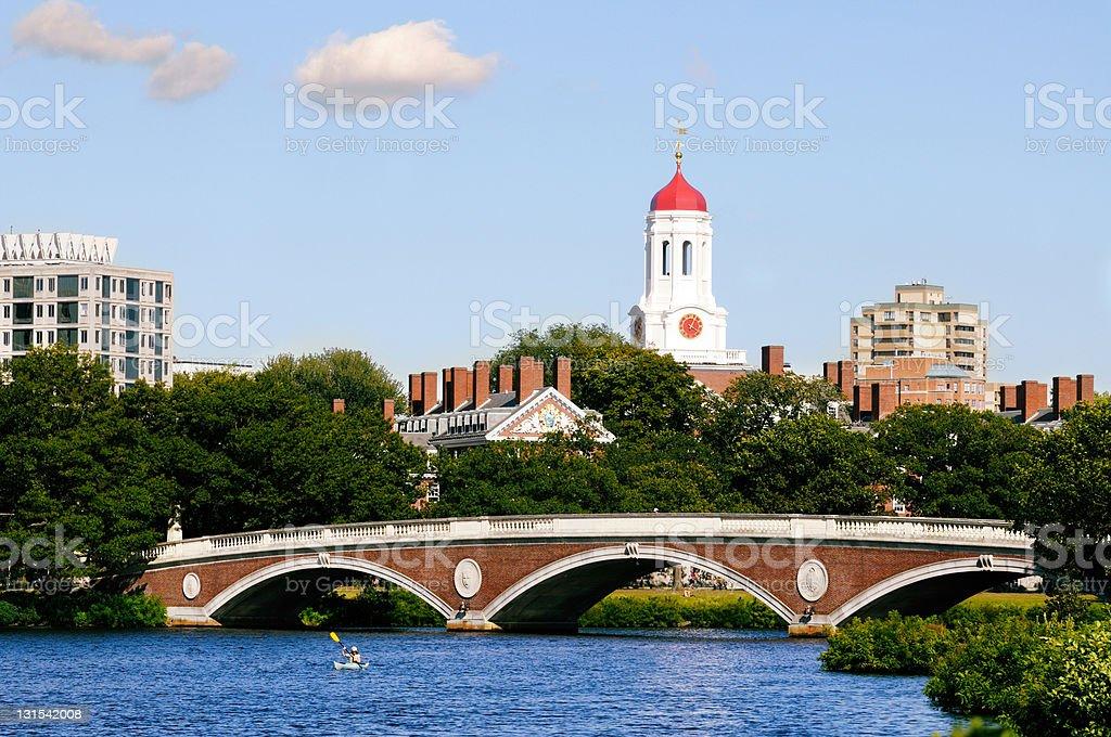 Harvard University royalty-free stock photo