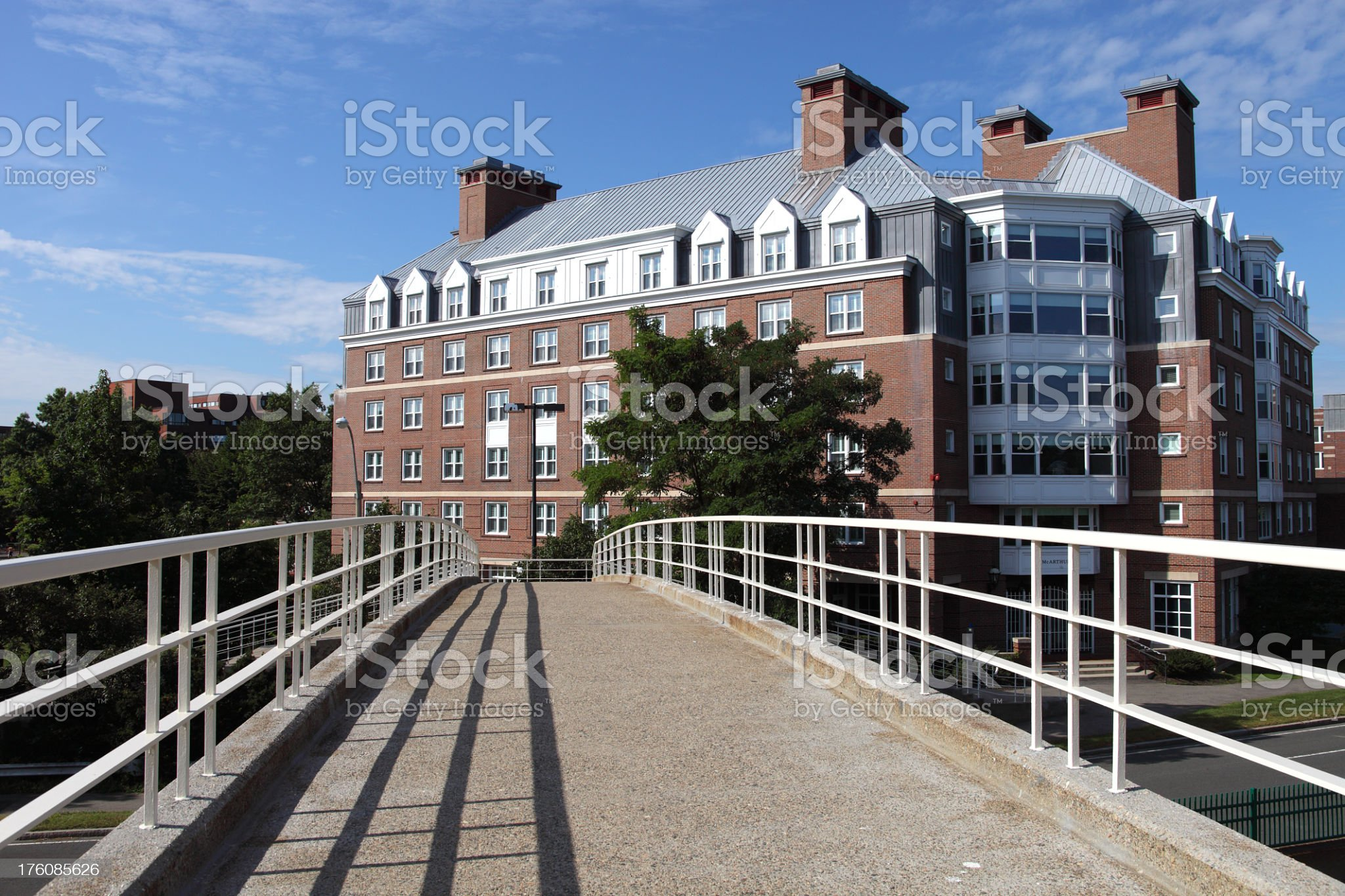 Harvard University royalty-free stock photo