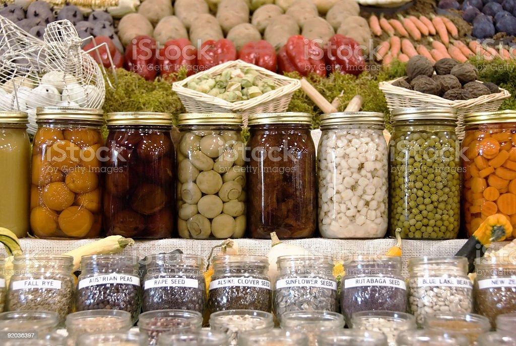 Harvest Bounty royalty-free stock photo