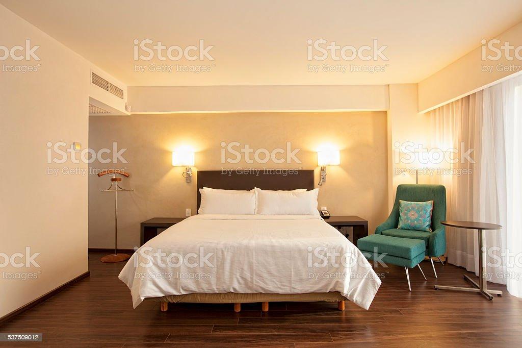 Harwood Floor stock photo