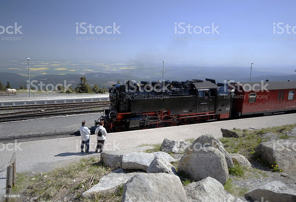 Harz Brocken Railways stock photo