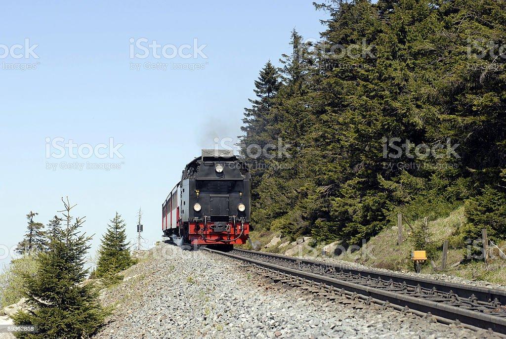 Harz narrow gauge Railways stock photo