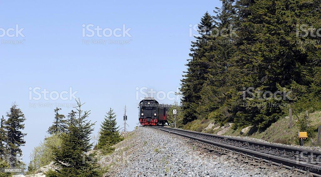 Harz National Park train stock photo