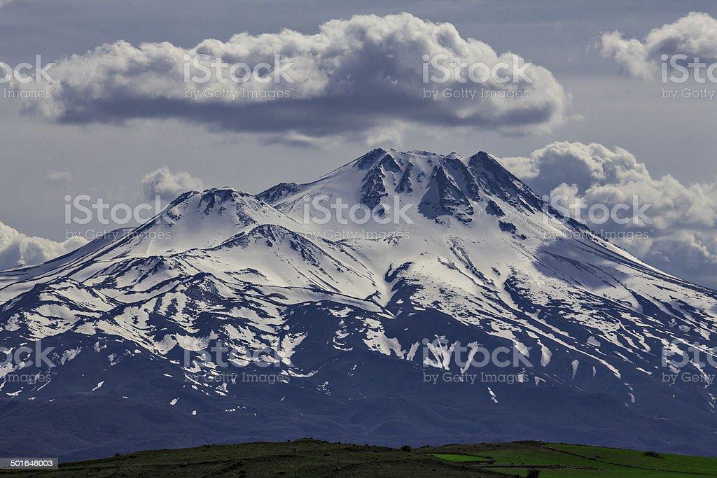 Hasan Mountain.. royalty-free stock photo