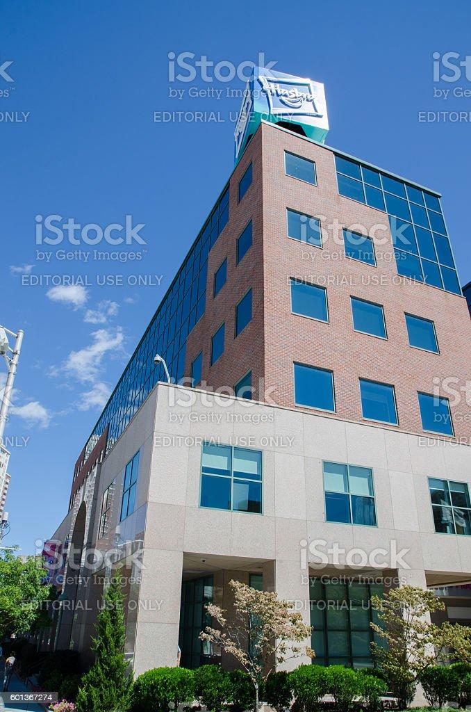 Hasbro Building in Providence, Rhode Island stock photo
