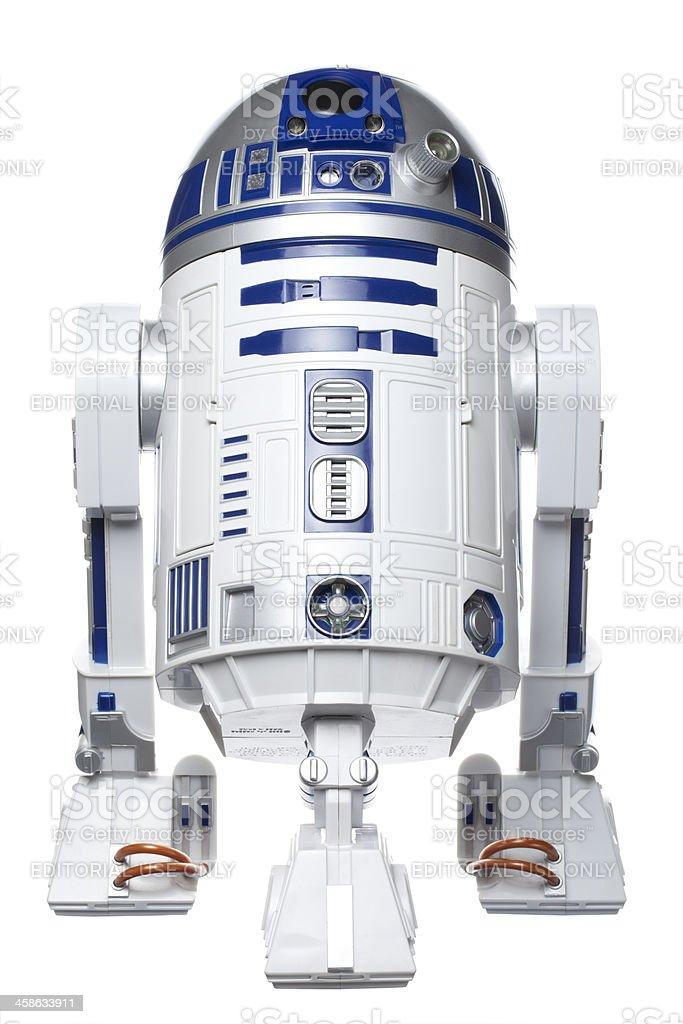 Hasbro Star Wars Interactive R2D2 royalty-free stock photo