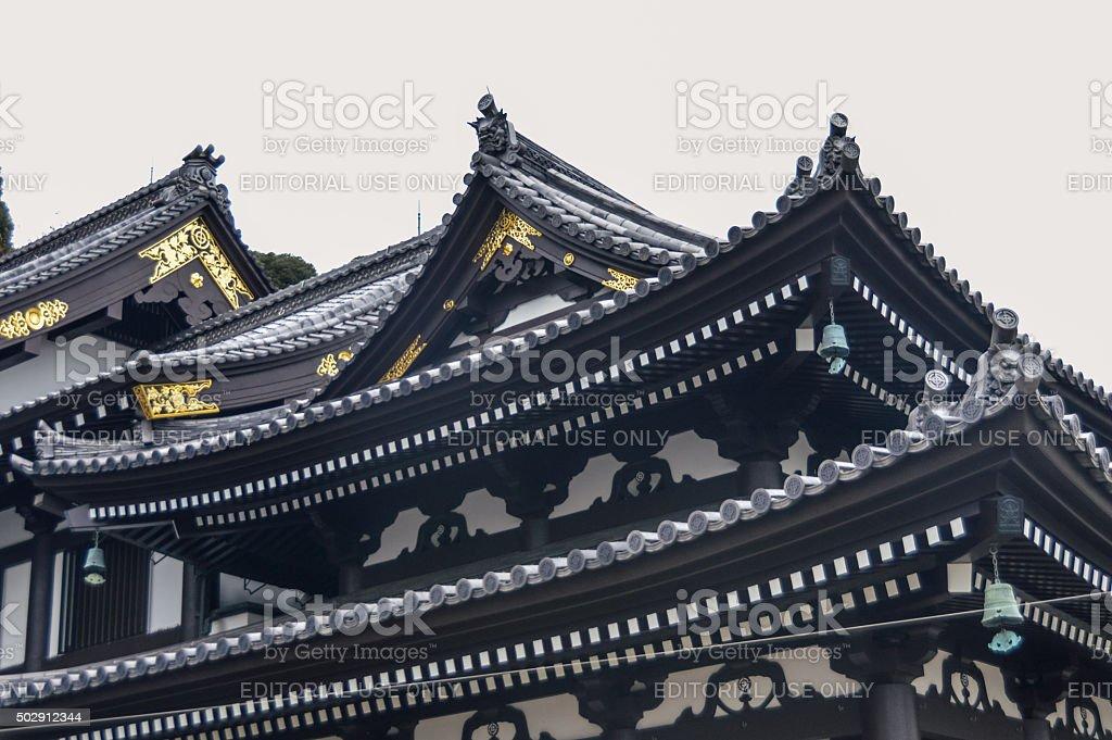 Hasedera Temple in Kamakura, Japan stock photo