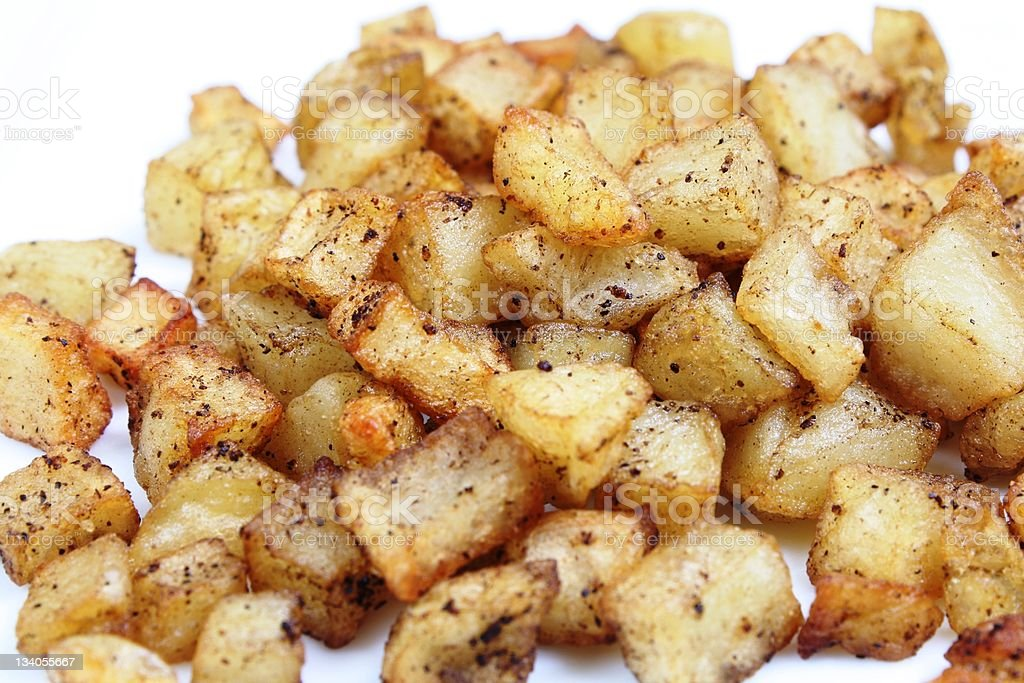 Hash Browns royalty-free stock photo