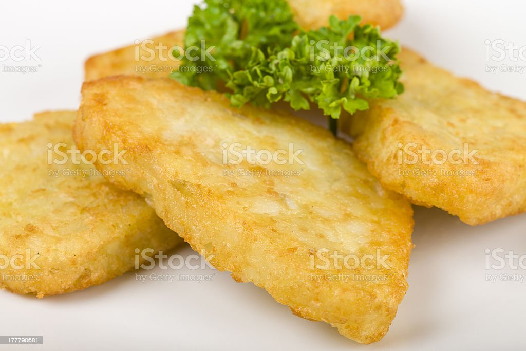 Hash Browns stock photo