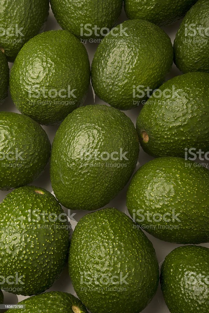 Hass Avocados royalty-free stock photo