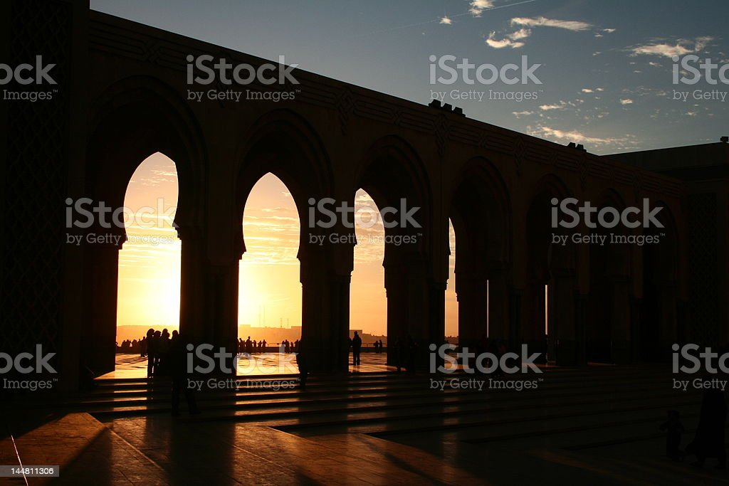 hassan 2 sunset royalty-free stock photo