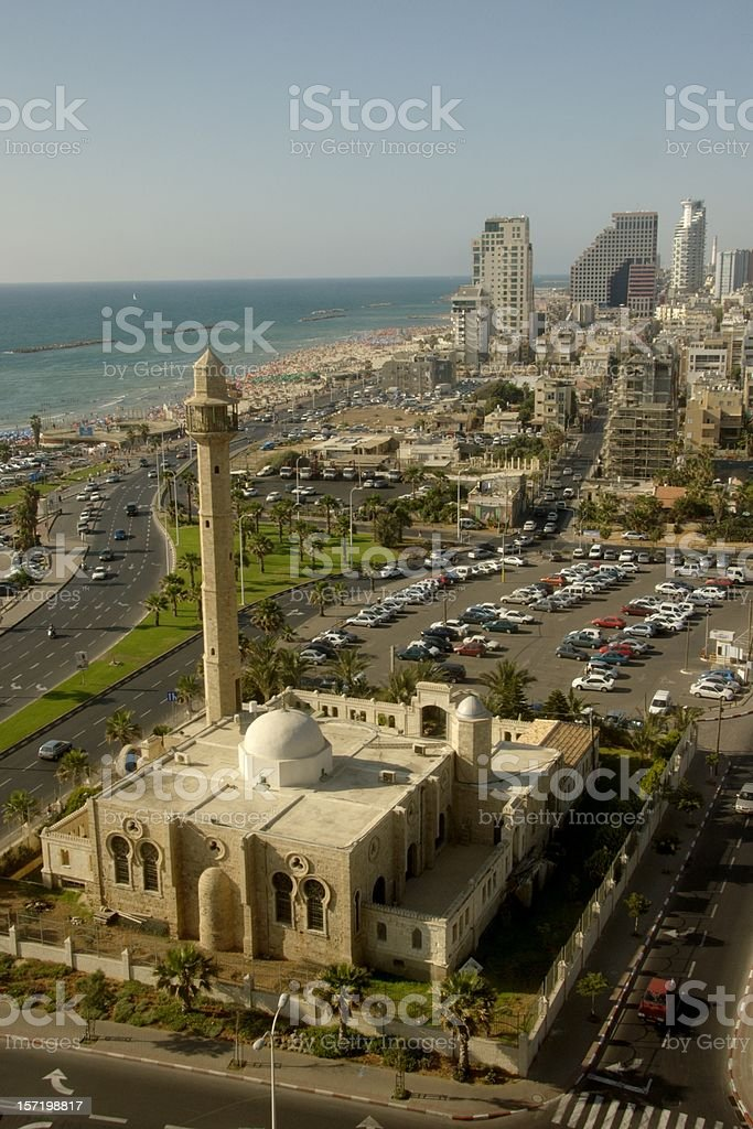 Hassan Beq Mosque @ Tel Aviv, Israel stock photo