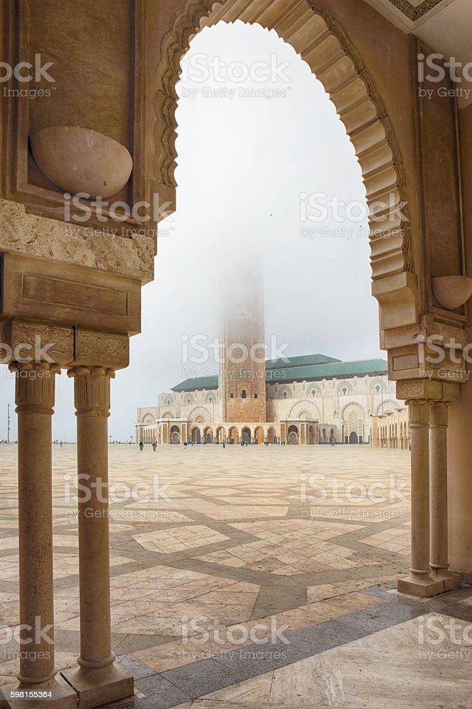Hassan II Mosque, Casablanca, Morocco stock photo