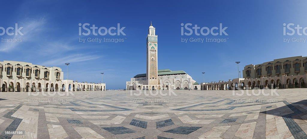 Hassan II mosque, Casablanca royalty-free stock photo