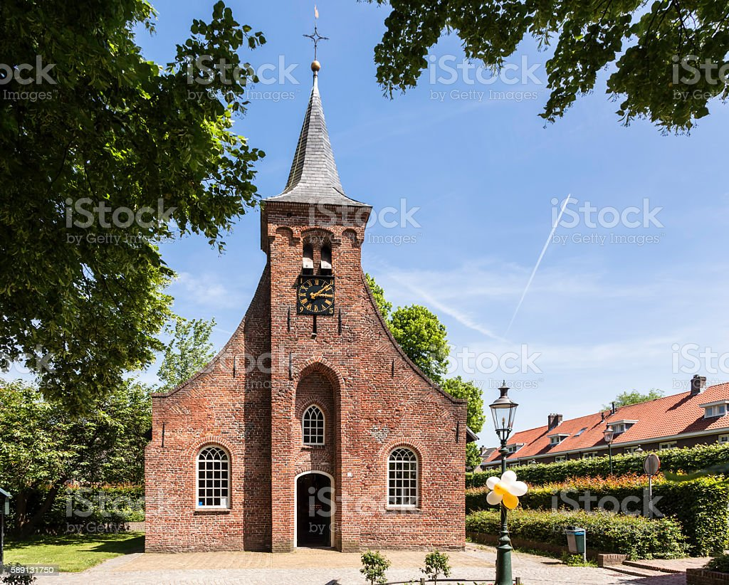 Hasselte Chapel Tilburg, the Netherlands stock photo