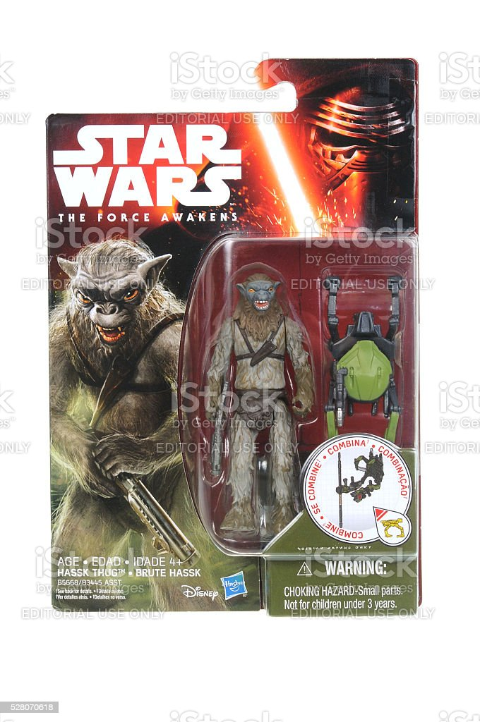Hassk Thug Star Wars Action Figure stock photo