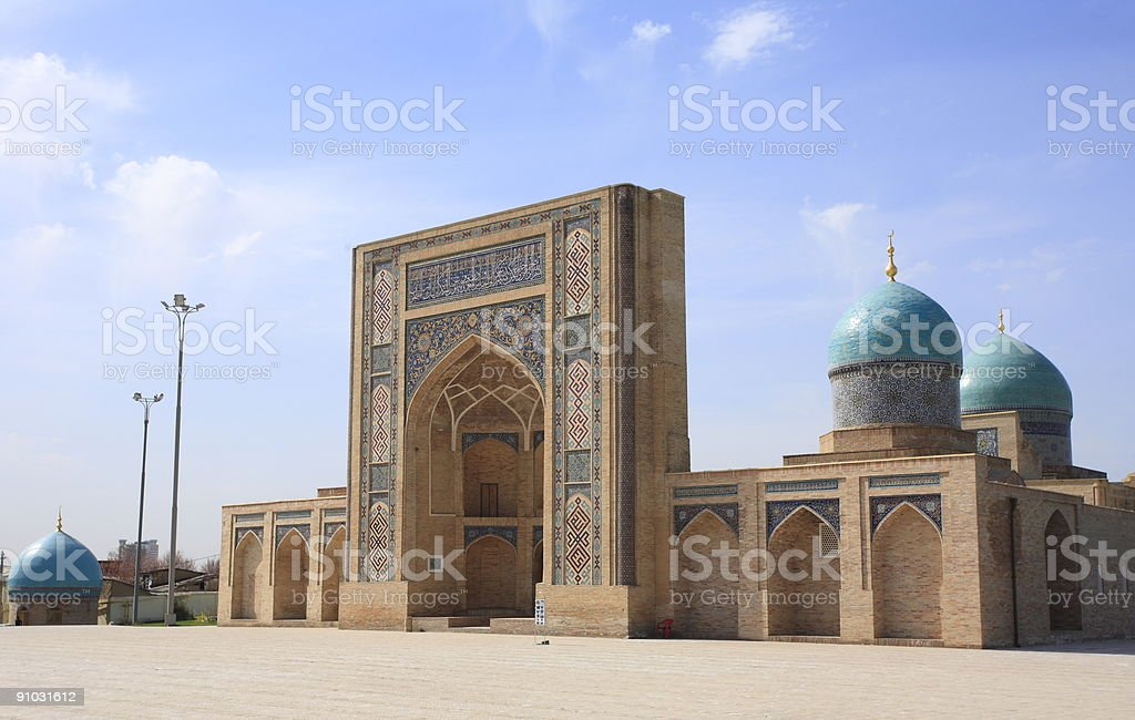 Hast Imam Mosque stock photo