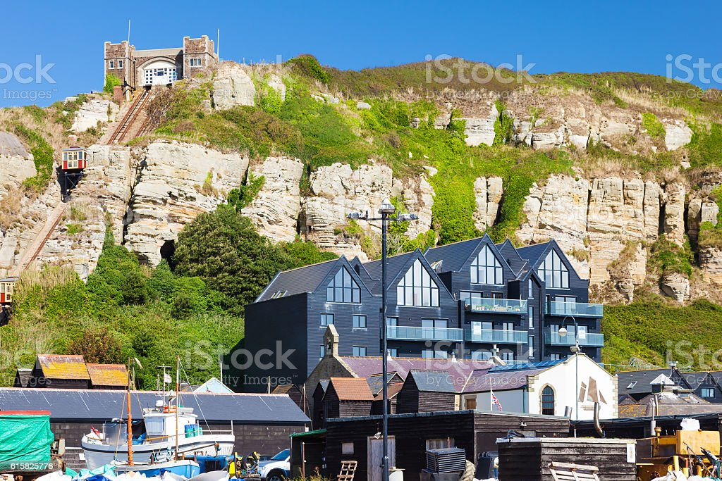 Hastings East Sussex England UK Europe stock photo