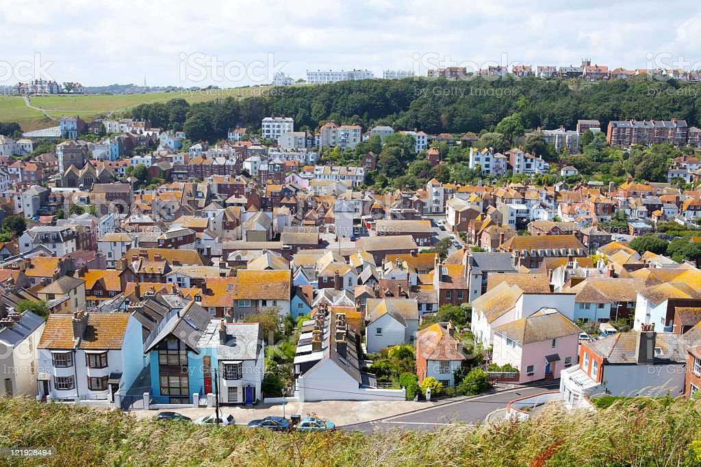 Hastings, East Sussex royalty-free stock photo